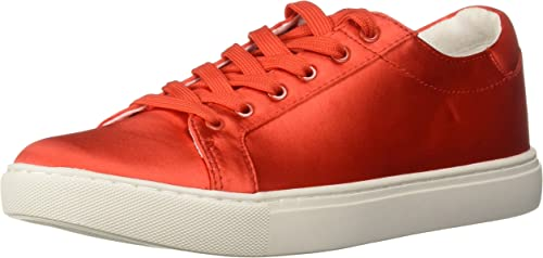 Kenneth Cole New York Woherren Kam Techni-Cole Satin Lace-up Turnschuhe, Persimmon, 9.5 M US