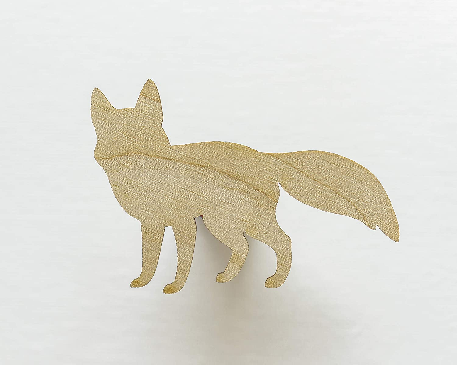 Max 76% OFF Unfinished wood Lowest price challenge shapes - Fox shape cutouts Woodland cutout