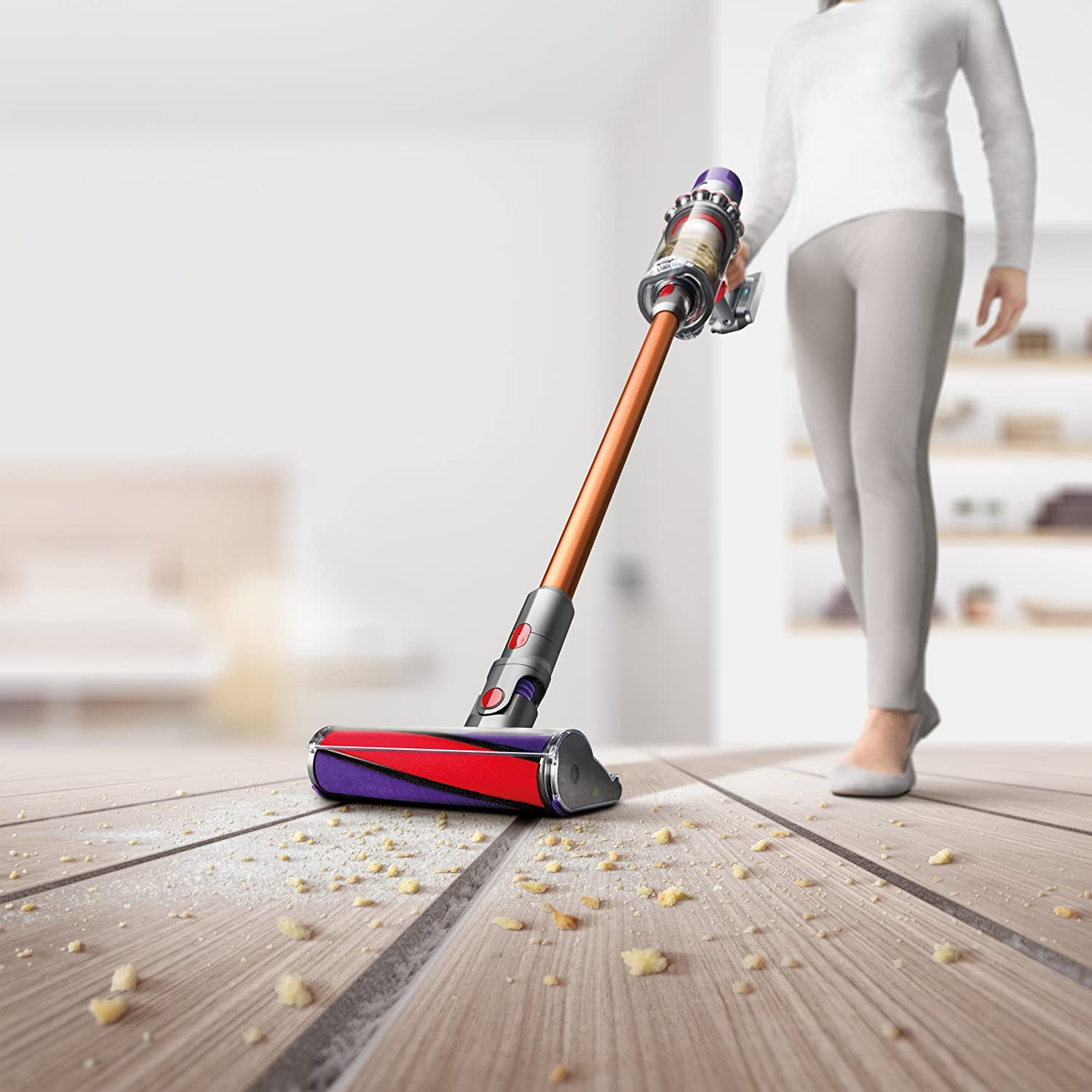 Dyson V10 Absolute Pro Cord-Free Vacuum (Copper) : Amazon.in: Home & Kitchen