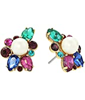 Kate Spade New York - Flying Colors Pearl Cluster Stud Earrings
