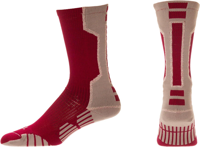 CSI I-Formation Athletic Crew Socks USA made (25 Colors)