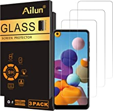 Ailun Screen Protector Compatible for Galaxy A21 3 Pack Tempered Glass Ultra Clear Anti-Scratch Case Friendly