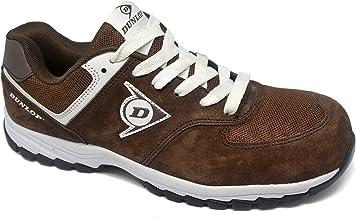 Dunlop DL0201027-45 schoen, suède en mesh, bruin, 45