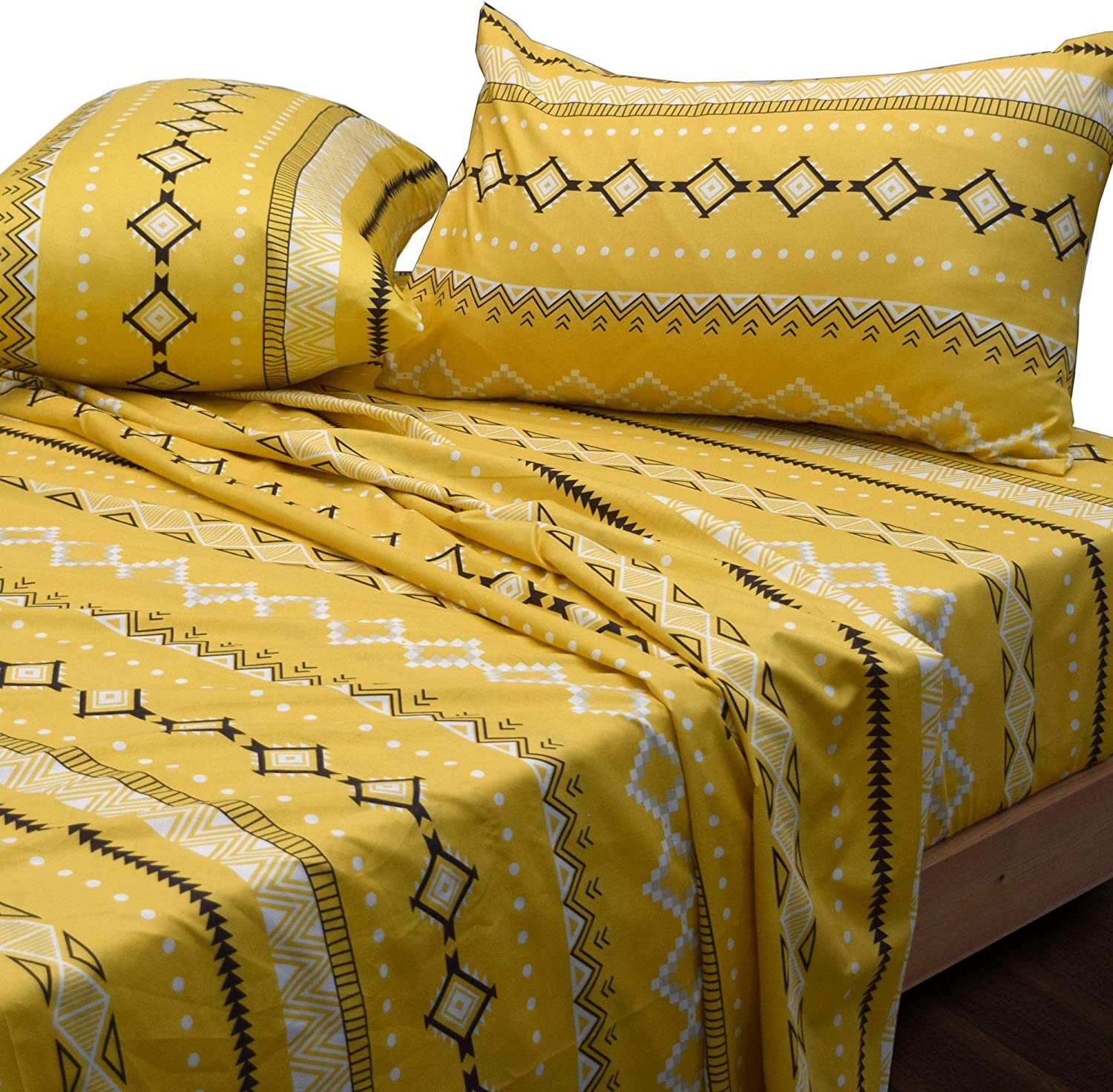 Essina Queen Bed Sheet Be super welcome Set Arcadia 4pc Sales of SALE items from new works Microfiber Ul Collection