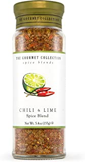 The Gourmet Collection Seasoning Blends, Chili and Lime Spice Blend - Seasoning for Cooking Fish, Soup, Chicken Wings, Sal...