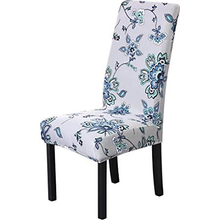 Floral Stretch Spandex Banquet Dining Chair Covers Party Seat Cover Home Decor