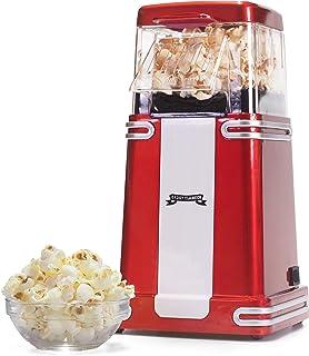comprar comparacion Gadgy ® Maquina de Palomitas | Palomitero Vintage | Aire Caliente Sin Grasa Aceita l Edición Retro Roja