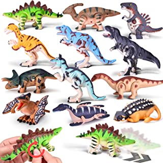 Wind Up Toys 12 PCs Assorted Dinosaur Toys for Toddlers, Dinosaur Figures, Dinosaur Party Favors