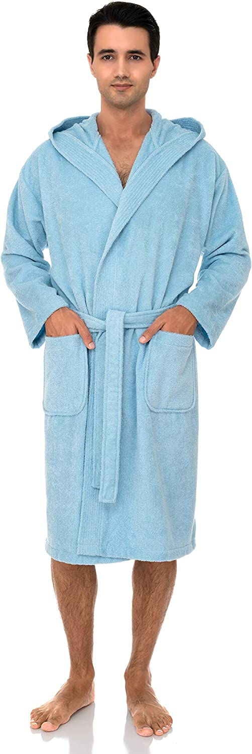 TowelSelections Men's OFFicial site Hooded Robe Turkish Cloth Cotton Terry Ranking TOP19 Ba