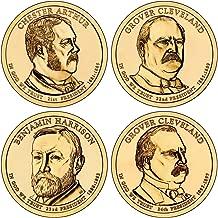 2012 D Presidential Dollar 4-Coin D Mint Uncirculated
