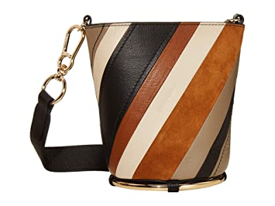 See by Chloe Zelie Shoulder Bag (Caramello) Handbags