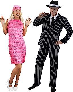 Disfraz de Pareja de gánster y cabareterahttps://amzn.to/2J5ckNI