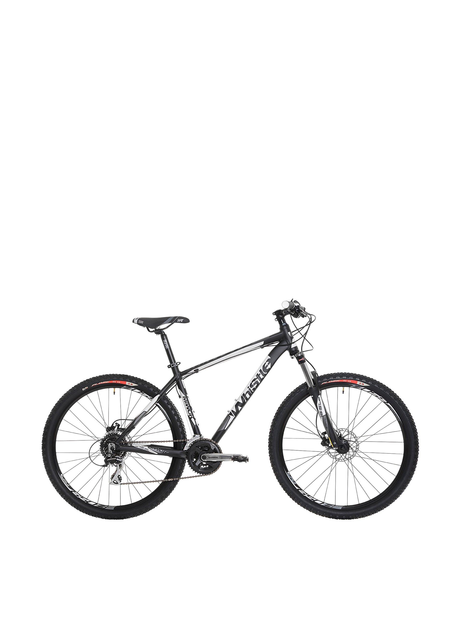 Whistle Bicicleta MTB Front Susp. 15 Miwok 1503 24S BLK/Wht Mat M: Amazon.es: Deportes y aire libre
