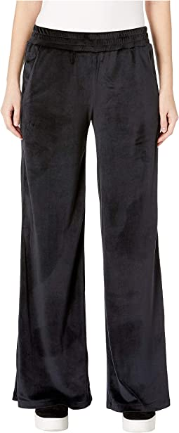 Low Waisted Wide Leg Pants with Side Slits
