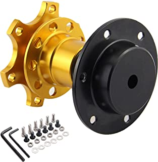 Neo Chrome Universal Steering Wheel Snap Off Quick Release Hub Adapter Boss kit 8 colors available