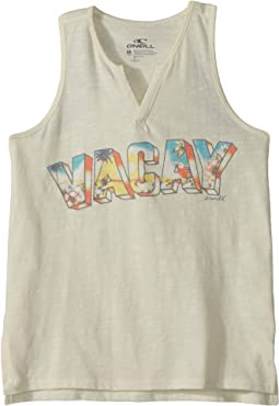 Vacay Time Tank Top (Big Kids)
