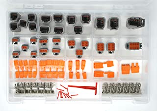 DEUTSCH DTM 191 PCS CONNECTOR KIT 20AWG STAMPED CONTACTS & TOOLS