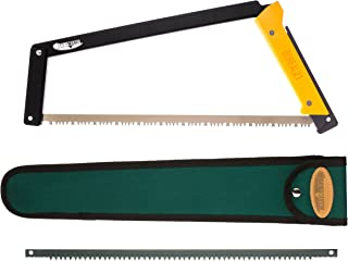 Agawa Canyon - BOREAL21 Tripper Kit - (21inch folding bow saw with all-purpose blade, canvas sheath, extra aggressive