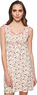 JOANNA Women's Floral Pattern Pajama Dress