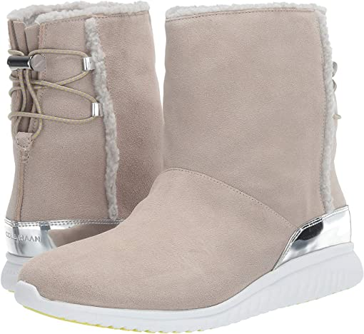 Dove Suede Waterproof/Aux Vapor Grey Shearling/Optic White