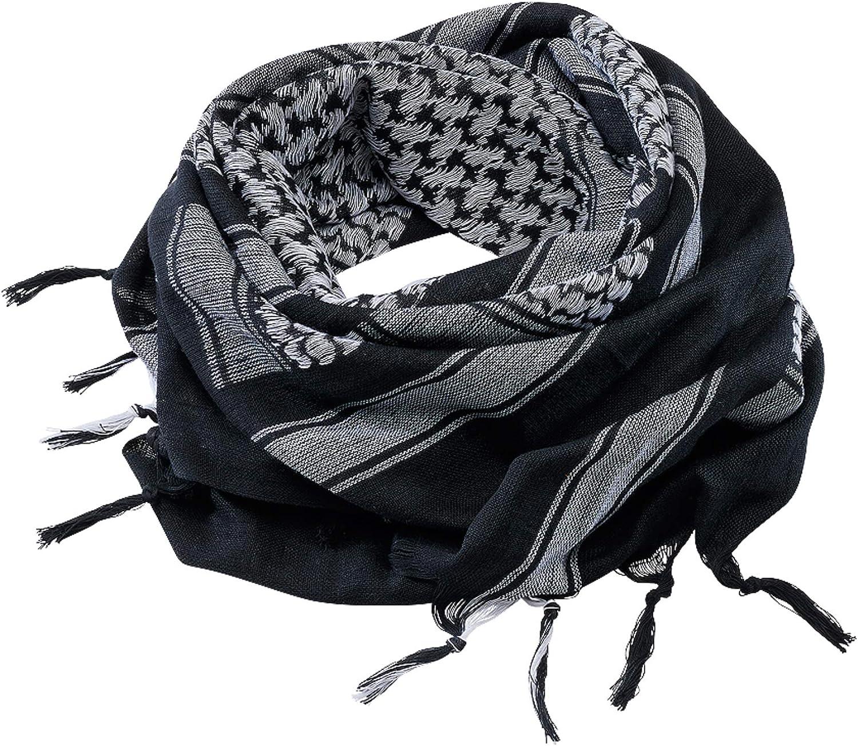 tela palestina Kufiya Shemagh A/ñil-Caqui Brandit