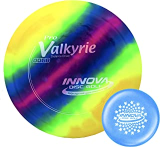 Innova I-Dye Pro Valkyrie Disc Golf Distance Driver with Stars Stamp Innova Mini (Colors and Designs Will Vary)