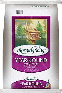 Morning Song 11400 Year-Round Wild Bird Food, 20-Pound