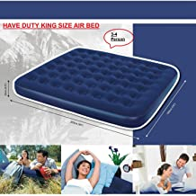Unibos Have Duty Tritech Queen Airbed with Built-in AC Pump 81in x 61in x 23in//2.04m x 1.53m x 57cm Air bed with Built-In Pump New