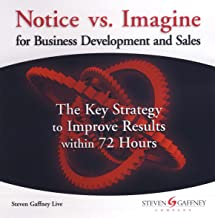 Notice vs. Imagine for Business Development and Sales: The Key Strategy to Improve Results within 72 Hours