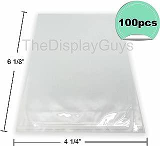 4 x 6 plastic sleeves