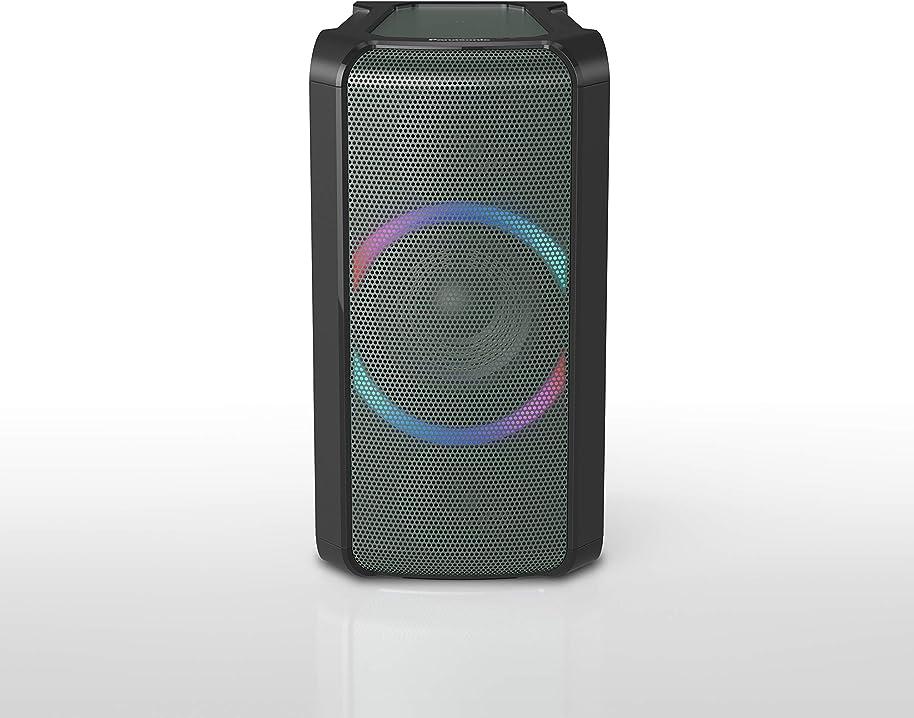 Sistema di altoparlanti bluetooth panasonic sc-tmax5eg-g , 150w, facile da trasportare, sistema bass reflex