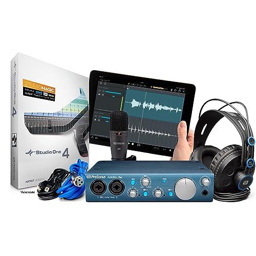 Presonus ITwoStudioBundle Interface audio Noir