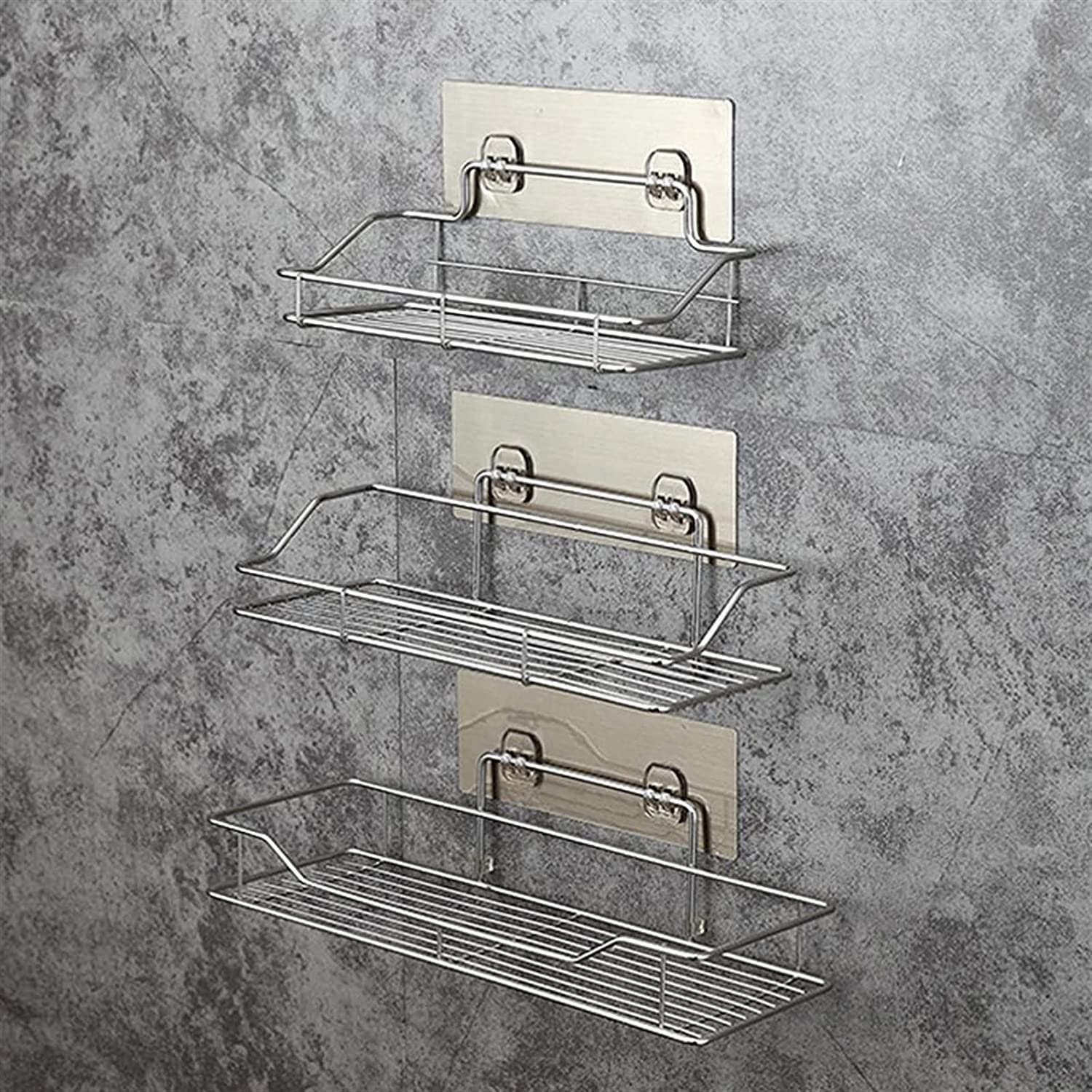 JINYIWJ Bathroom Sales of SALE items from new works Shelf Stainless Storage Directly managed store Steel Pu