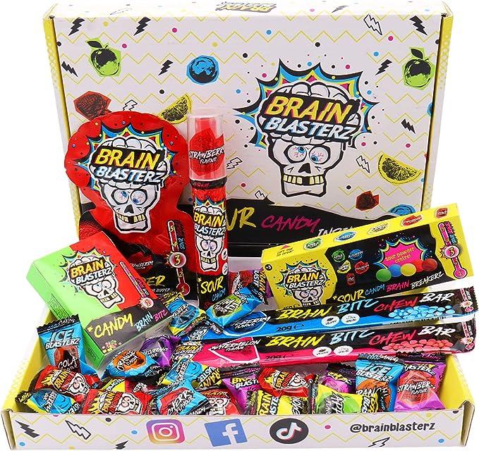 230 opinioni per Brain Blasterz- Box di caramelle aspre, contiene Brain Breakerz, Candy Spray,