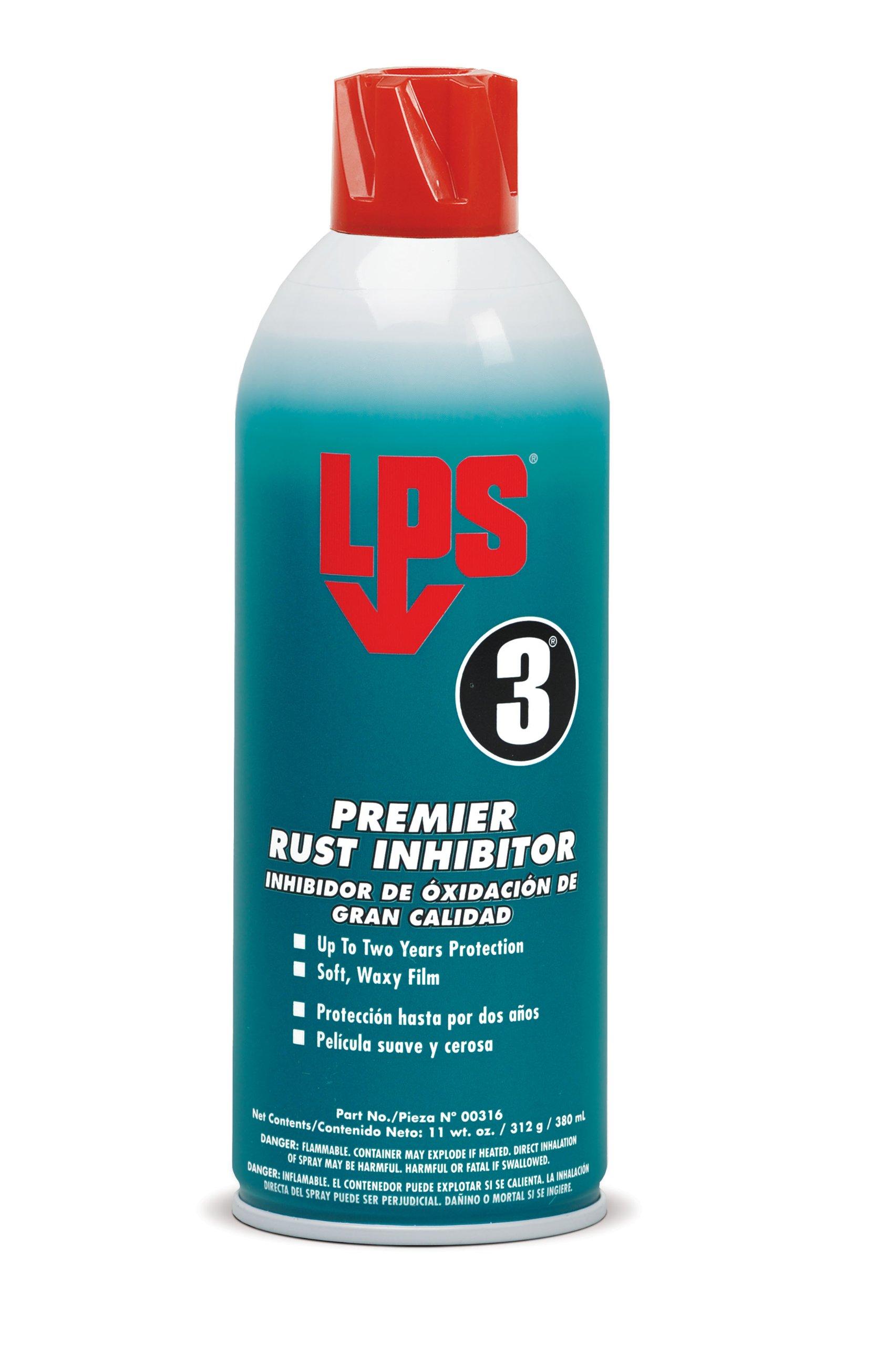 LPS - 316 3 Premier Rust Inhibitor, 11 oz Aerosol (Pack of 12)