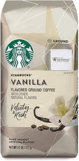Starbucks Flavored Ground Coffee — Vanilla — No Artificial Flavors — 6 bags (11 oz. each)