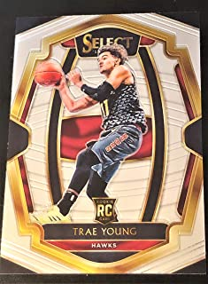 NEW! 2018-19 Panini SELECT Basketball - TRAE YOUNG Short Printed Rookie Card #142