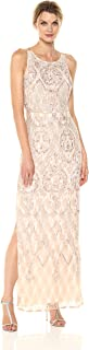 Women's Embroidered Lace Gown