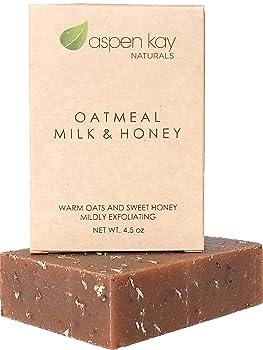 Aspen Kay Naturals Oatmeal Soap Bar