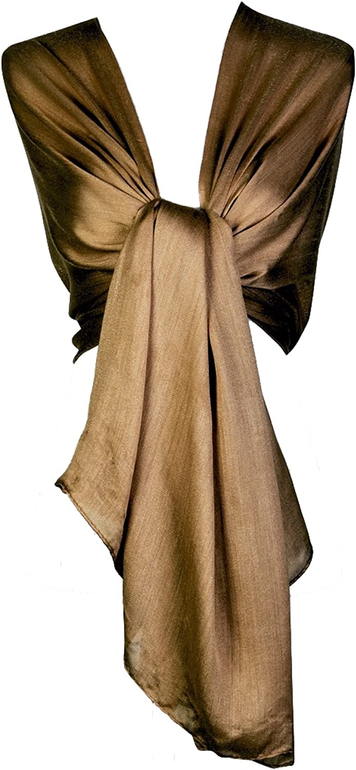 World of Recommended Shawls Silky Selling Iridescent Scarf Stole B Maxi Wedding Wrap