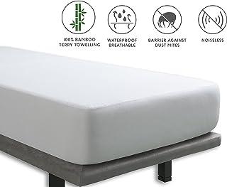 Tural – Protector de colchón Impermeable y Transpirable. Rizo 100% Bambú. Talla 150x200cm