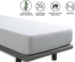 Tural – Protector de colchón Impermeable y Transpirable. Rizo 100% Bambú. Talla 90x200cm