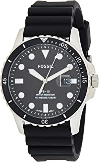 Fossil Casual Gents Wrist Watch, Black