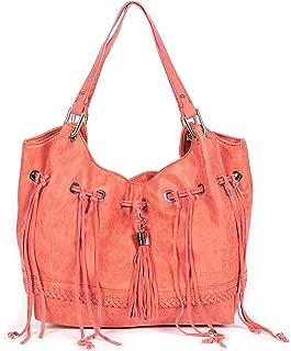 Women's Vegan Leather Skyler Tote Large Shoulder Bag