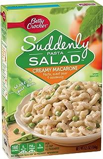 Betty Crocker Suddenly Salad, Creamy Macaroni Pasta Salad Dry Meals, 6.5 Oz Box (Pack of 12)