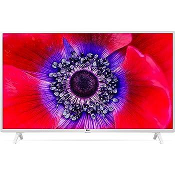 "LG 43UN73906LE.AEUD Smart TV LED Ultra HD 4K 43"", Processore Quad Core 4K, Wi-Fi, AI ThinQ, HDR 10 Pro, Google Assistant e Alexa Integrati - TV 4K, Bianco"