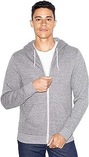 unisex-adult Peppered Fleece Long Sleeve Zip Hoodie
