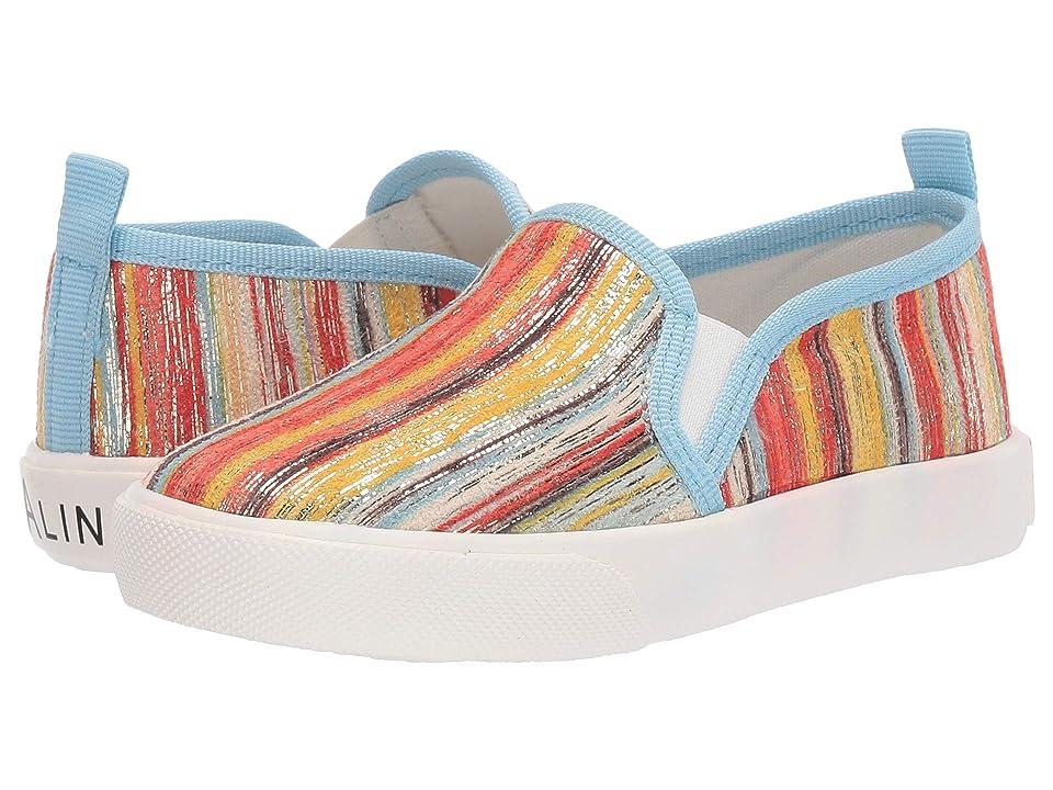 Amiana 6-A0864 (Toddler/Little Kid/Big Kid/Adult) (Orange Stripe) Girls Shoes