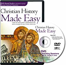 Christian History Made Easy Leader Pack for Group or Individual study (12-session DVD)