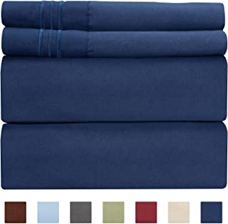 Extra Deep Pocket Sheets - Deep Pocket Twin Sheets - Extra Deep Pocket Twin Sheets - Deep Fitted Sheet Set - Extra Deep Pocket Twin Size Sheets - Deep Pockets Sheets fit 18 Inch to 24 Inch Mattresses